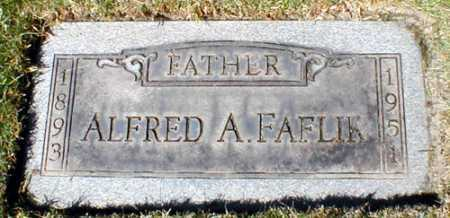 FAFLIK, ALFRED ANTHONY - Cuyahoga County, Ohio | ALFRED ANTHONY FAFLIK - Ohio Gravestone Photos