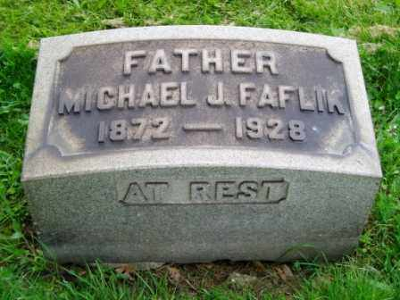 FAFLIK, MICHAEL - Cuyahoga County, Ohio | MICHAEL FAFLIK - Ohio Gravestone Photos
