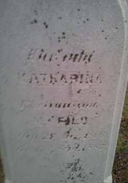 FILD, KATHARINA - Cuyahoga County, Ohio | KATHARINA FILD - Ohio Gravestone Photos