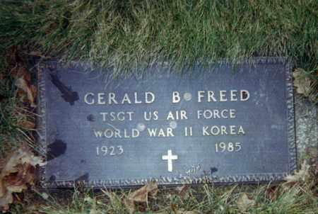FREED, GERALD - Cuyahoga County, Ohio | GERALD FREED - Ohio Gravestone Photos