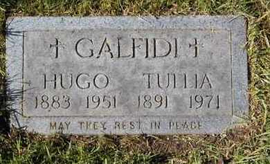 GALFIDI, HUGO - Cuyahoga County, Ohio | HUGO GALFIDI - Ohio Gravestone Photos