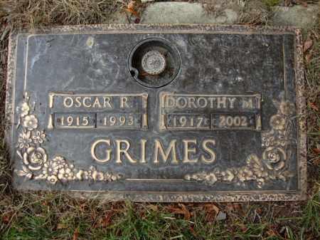 GRIMES, OSCAR - Cuyahoga County, Ohio | OSCAR GRIMES - Ohio Gravestone Photos