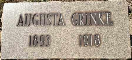 GRINKE, AUGUSTA - Cuyahoga County, Ohio | AUGUSTA GRINKE - Ohio Gravestone Photos