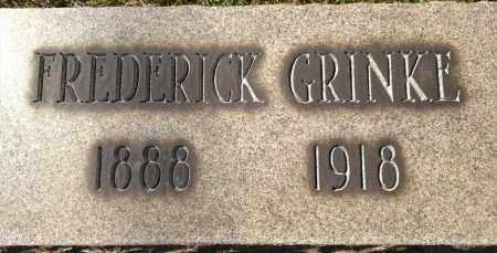 GRINKE, FREDERICK - Cuyahoga County, Ohio | FREDERICK GRINKE - Ohio Gravestone Photos