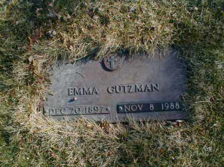 GUTZMAN, EMMA - Cuyahoga County, Ohio | EMMA GUTZMAN - Ohio Gravestone Photos