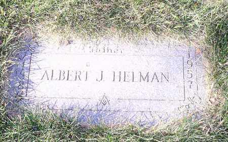 HELMAN, ALBERT - Cuyahoga County, Ohio | ALBERT HELMAN - Ohio Gravestone Photos