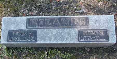 HILANDS, NELLIE M. - Cuyahoga County, Ohio | NELLIE M. HILANDS - Ohio Gravestone Photos