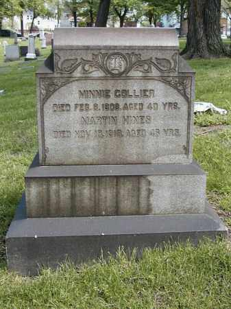 HINES COLLIER, MINNIE - Cuyahoga County, Ohio | MINNIE HINES COLLIER - Ohio Gravestone Photos