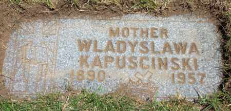 KAPUSCINSKI, WLADYSLAWA - Cuyahoga County, Ohio | WLADYSLAWA KAPUSCINSKI - Ohio Gravestone Photos