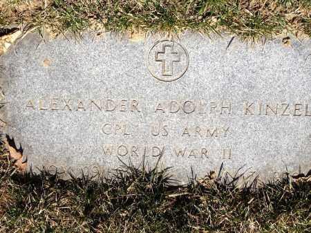 KINZEL, ALEXANDER ADOLPH - Cuyahoga County, Ohio | ALEXANDER ADOLPH KINZEL - Ohio Gravestone Photos