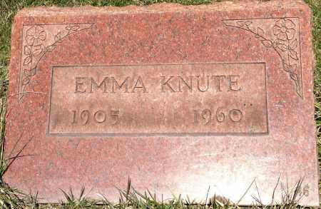 GINTER KNUTE, EMMA - Cuyahoga County, Ohio | EMMA GINTER KNUTE - Ohio Gravestone Photos
