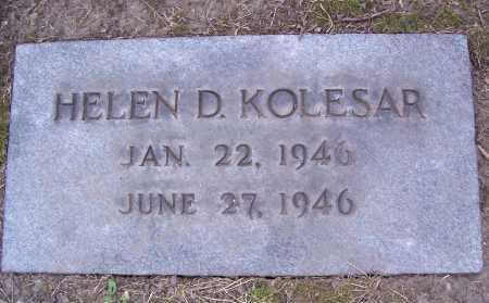 KOLESAR, HELEN DIANE - Cuyahoga County, Ohio | HELEN DIANE KOLESAR - Ohio Gravestone Photos
