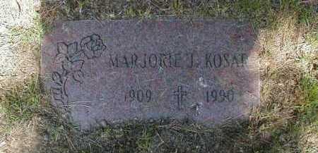PINTA KOSAR, MARJORIE - Cuyahoga County, Ohio | MARJORIE PINTA KOSAR - Ohio Gravestone Photos