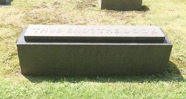 KOYKKA, FREDERICA - Cuyahoga County, Ohio | FREDERICA KOYKKA - Ohio Gravestone Photos