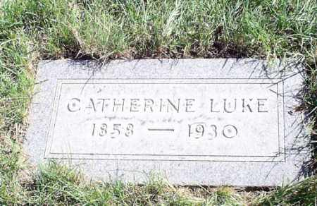 LUKE, CATHERINE - Cuyahoga County, Ohio | CATHERINE LUKE - Ohio Gravestone Photos