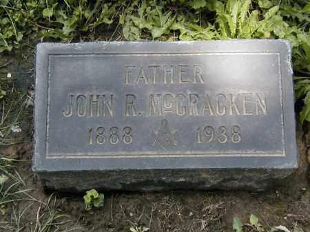 MCCRACKEN, JOHN R. - Cuyahoga County, Ohio | JOHN R. MCCRACKEN - Ohio Gravestone Photos