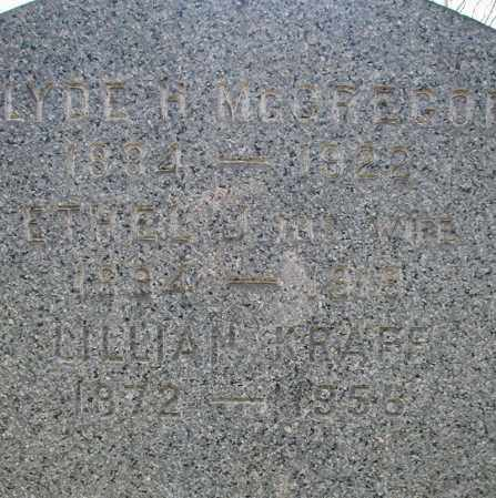 MCGREGOR, ETHEL J. - Cuyahoga County, Ohio | ETHEL J. MCGREGOR - Ohio Gravestone Photos