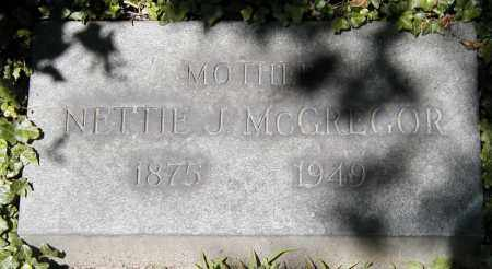 MILLS MCGREGOR, NETTIE J. - Cuyahoga County, Ohio | NETTIE J. MILLS MCGREGOR - Ohio Gravestone Photos