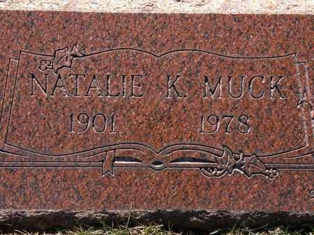 MUCK, NATALIE - Cuyahoga County, Ohio | NATALIE MUCK - Ohio Gravestone Photos