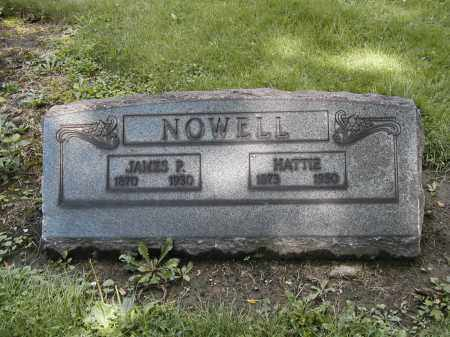 NOWELL, HATTIE - Cuyahoga County, Ohio | HATTIE NOWELL - Ohio Gravestone Photos
