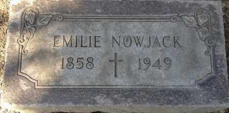NOWJACK, EMILIE - Cuyahoga County, Ohio | EMILIE NOWJACK - Ohio Gravestone Photos