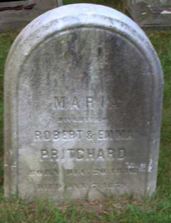 PRITCHARD, MARIA - Cuyahoga County, Ohio | MARIA PRITCHARD - Ohio Gravestone Photos