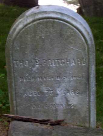 PRITCHARD, THOS. B. - Cuyahoga County, Ohio | THOS. B. PRITCHARD - Ohio Gravestone Photos