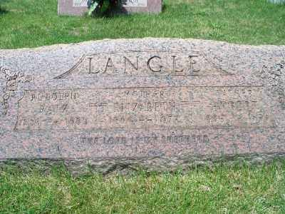 LANGLE, ROBERT - Cuyahoga County, Ohio | ROBERT LANGLE - Ohio Gravestone Photos