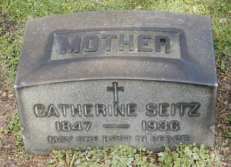 GROSS SEITZ, CATHERINE - Cuyahoga County, Ohio | CATHERINE GROSS SEITZ - Ohio Gravestone Photos