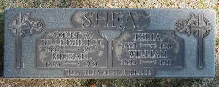 SHEA, WILLIAM M. - Cuyahoga County, Ohio | WILLIAM M. SHEA - Ohio Gravestone Photos