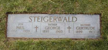 STEIGERWALD, PAUL JOSEPH - Cuyahoga County, Ohio | PAUL JOSEPH STEIGERWALD - Ohio Gravestone Photos