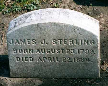 STERLING, JAMES JUSTIN - Cuyahoga County, Ohio | JAMES JUSTIN STERLING - Ohio Gravestone Photos