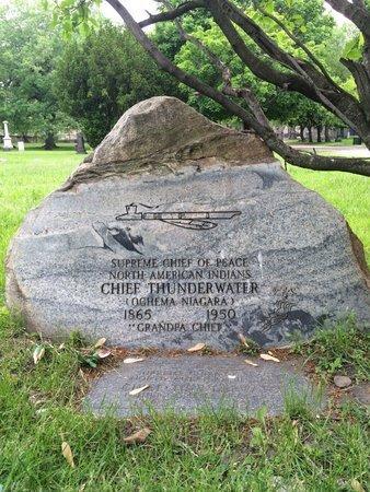 THUNDERWATER, CHIEF - Cuyahoga County, Ohio | CHIEF THUNDERWATER - Ohio Gravestone Photos