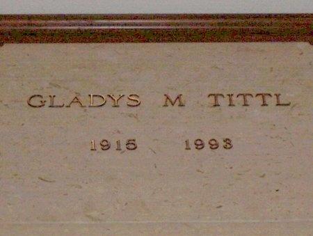 TITTL, GLADYS MAE - Cuyahoga County, Ohio | GLADYS MAE TITTL - Ohio Gravestone Photos