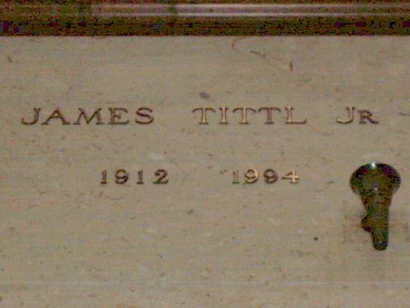 TITTLE JR., JAMES - Cuyahoga County, Ohio | JAMES TITTLE JR. - Ohio Gravestone Photos