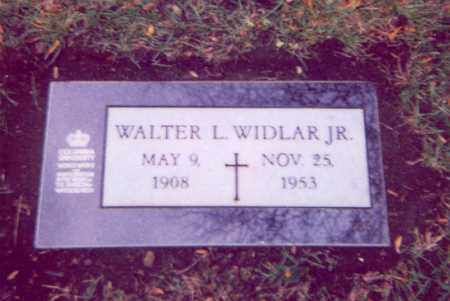 WIDLAR, WALTER JR. - Cuyahoga County, Ohio | WALTER JR. WIDLAR - Ohio Gravestone Photos