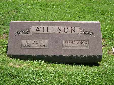 WILLSON, C. RALPH - Cuyahoga County, Ohio | C. RALPH WILLSON - Ohio Gravestone Photos