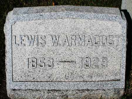 ARMACOST, LEWIS W. - Darke County, Ohio | LEWIS W. ARMACOST - Ohio Gravestone Photos