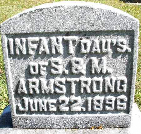 ARMSTRONG, INFANT DAUGHTER'S - Darke County, Ohio | INFANT DAUGHTER'S ARMSTRONG - Ohio Gravestone Photos