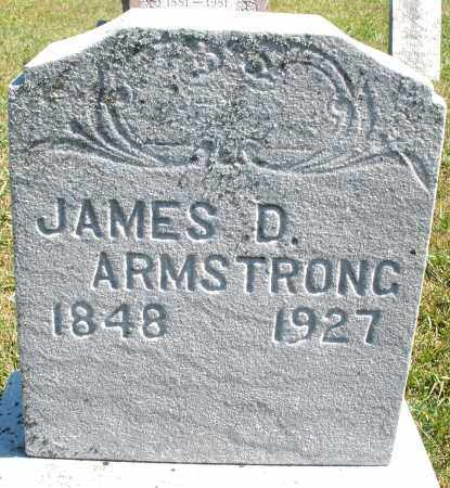 ARMSTRONG, JAMES D. - Darke County, Ohio | JAMES D. ARMSTRONG - Ohio Gravestone Photos
