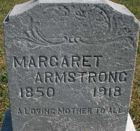 ARMSTRONG, MARGARET - Darke County, Ohio | MARGARET ARMSTRONG - Ohio Gravestone Photos