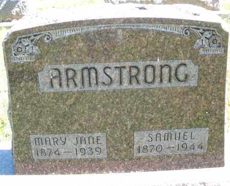 ARMSTRONG, MARY JANE - Darke County, Ohio | MARY JANE ARMSTRONG - Ohio Gravestone Photos