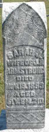 ARMSTRONG, SARAH J. - Darke County, Ohio | SARAH J. ARMSTRONG - Ohio Gravestone Photos