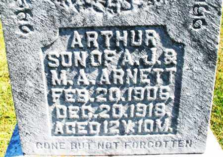 ARNETT, ARTHUR - Darke County, Ohio | ARTHUR ARNETT - Ohio Gravestone Photos