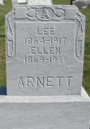 ARNETT, LEE - Darke County, Ohio | LEE ARNETT - Ohio Gravestone Photos