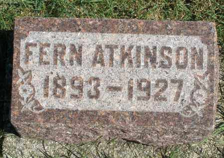 ATKINSON, FERN - Darke County, Ohio | FERN ATKINSON - Ohio Gravestone Photos