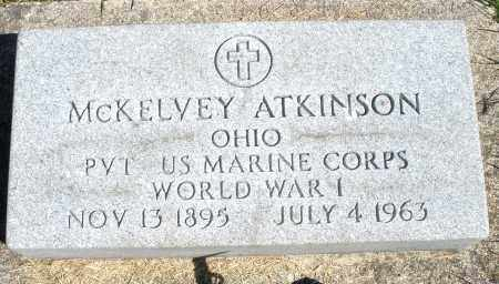 ATKINSON, MCKELVEY - Darke County, Ohio | MCKELVEY ATKINSON - Ohio Gravestone Photos