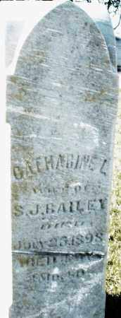 BAILEY, CATHARINE L. - Darke County, Ohio | CATHARINE L. BAILEY - Ohio Gravestone Photos