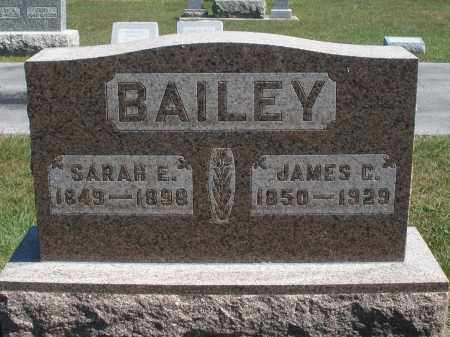 BAILEY, JAMES C. - Darke County, Ohio | JAMES C. BAILEY - Ohio Gravestone Photos