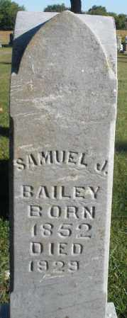 BAILEY, SAMUEL J. - Darke County, Ohio | SAMUEL J. BAILEY - Ohio Gravestone Photos